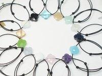 Kryształ Foris Brand Jewelry Handmade 925 Sterling Silver Black Lina Cztery Leaf Clover Crystal Charm Bransoletki Dla Dziewczyny Dziecko