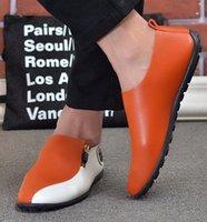 2014 Fashion England Stil Sammanfattning Tillsammans Klädskor Mäns Casual Round Head Shoes Groom Bröllop Skor