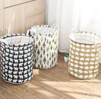 سلة الغسيل تخزين سلة كبيرة للعب سلة الغسيل طوي الملابس القذرة أشتات تخزين سلال مربع