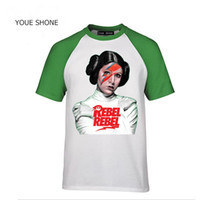 Nouveau Mode t-shirt Yoda Darth Vader tshirt Camiseta DAVID BOWIE JEDI T-shirt Homme Casual Leia Rebel HipHop T-shirt coton Polos