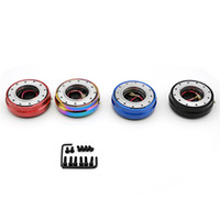 Thin Version 6 Hole Steering Wheel Release Release Hub Adapter Snap Off Boss kit