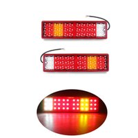 1 Pair LED Car Rear Tail Light Reverse Lamp Brake Stop light...