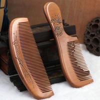 جودة عالية! كبيرة الحجم 17 سنتيمتر * 5.5 سنتيمتر كومب الخشب الطبيعي مكافحة ساكنة الرعاية الصحية اللحية مشط شعر فراش الشعر مدلك تصفيف الشعر أداة أفضل الهدايا