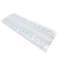 Livraison gratuite! 2pcs / lot planche à pain MB-102 830 points de soudure sans soudure PCB planche MB102 test développer bricolage pour arduino