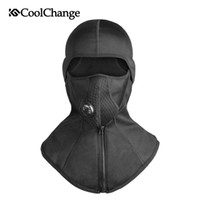 CoolChange Winter Cycling Face Mask Cap Ski Bike Mask Therma...