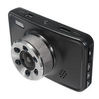"""Full HD voiture DVR 1080P dashcam numérique enregistrant des données de conduite 3 """"140 degrés de vision nocturne caméscope G-capteur moniteur de stationnement à détection de mouvement"""