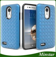 Fit USA Market Selling Price Woven Hybird Case for LG K20 Pl...