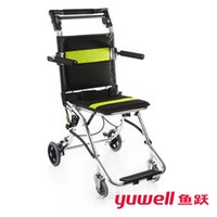 yuwell 2000 handicapped wheelchairs for elderly folding port...