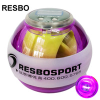 RESBO LED Wrist Ball Power Force Ball with Speed Meter Gyro ...