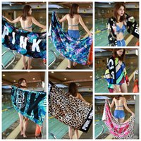 7 Styles 147*71cm Soft Leopard Beach Towel Outdoor Sports Sw...