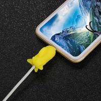 Line Bite for Iphone 케이블 와인 더 코드 Animal Phone Accessory Protect iphone 용 귀여운 보호 케이블