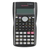 Calculadora científica del estudiante de mano 2 Línea calculadora portátil multifuncional para la enseñanza de las matemáticas