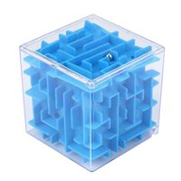 3D Cube Puzzle Maze Toy Hand Game Case Box Fun Brain Game Ch...