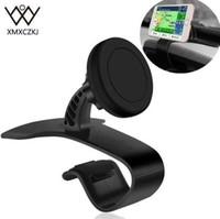 XMXCZKJ Más Nuevo Universal Ajustable Del Sostenedor Del Teléfono Del Coche Tablero Magnético Mount Holder Abrazadera Clip Soporte Para Móvil Teléfono Inteligente GPS