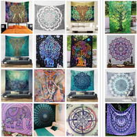 22 Styles Polyester BeachTowel Elephant Indian Throw Summer ...