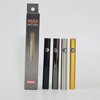 Cigarrillo electrónico Amigo Max 510 Tema de la batería 380mAh cigarrillos e 510 Cartucho de Vape pluma de la batería ajustable de tensión cartucho de batería