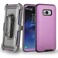 Für Motorola Moto G6 G5 G4 G5S Plus-Play-Z3 Z2 Kraft X4 CaseBelt Clip-Handy-Fall mit Ständer Shock Proof Fall Tough Rüstung Fall-Abdeckung