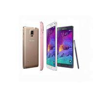 Reformado original para Samsung Galaxy Nota 4 Nota4 N910F N910A N910T 5,7 pulgadas Quad Core 3 GB de RAM 32 GB ROM 16MP 4G LTE SmartPhone
