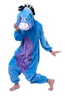 Unisex Adult Animal Cosplay Costume Pajamas Sleepwear Onesie...