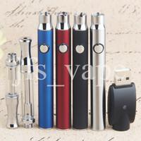 Botão Stylus Bateria O Pen Ce3 Starter Kits 350 Mah Botão Kit Vaporizador Bud 510 Cartucho De Cera De Petróleo Vape Caixa De Alumínio