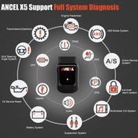 OBD OBD2 EOBD Automotive Scanner x5 WiFi WiFi Win10 Tablet Auto Carro Diagnóstico Ferramenta Airbag ABS DPF Reset Full System Diagnóstico