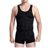 HIRIGIN Summer Men Slim Body Lift Shaper Pancia Fatty BUSTER Intimo Vest Canotta compressione Dimagrante Body Shaper