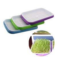 1 set Double Layer Bean Sprouts Plate Seedling Tray Planting...