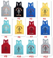 Gold' s GYM Men Fitness Stringer Cotton Gym Tank Top Sin...