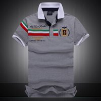 2018 Mens Designer Polo Shirts Men Luxury Polo Shirts Solid ...