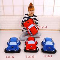 Yaratıcı 45 CM Peluş Oyuncak Araba Simülasyon Doll Çocuk Doğum Günü Hediyeleri 4 Stilleri Noel hediyeleri parlak renk