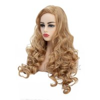 Free Shipping Fashion Long Curly Wig Rabbit Wig With Big Swa...