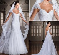 New Arrival Vestidos De Noiva Tulle Applique Beaded Wedding ...