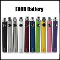 Batteries de batterie EVOD pour la cigarette E pour 510 fil MT3 CE5 CE5 CE6 Mini Protank 650/900/1100 Mah Diverses couleurs