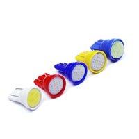50PCS T10 5050 1SMD Car Led Light 194 168 192 W5W Porta Lampe LED 12V Car Styling Auto cuneo all'Ingrosso