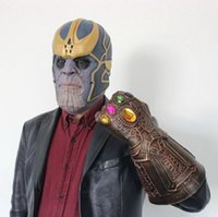 Cos props Cos halloween movie Thanos Mask Latex tyrant unlim...