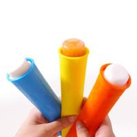 Stampi per popcorn in silicone colorato Stampi per pop ice Stampi per gelatina Vasche per gelato Ice Cool Summer lin3020
