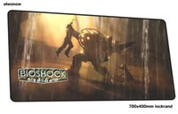 bioshock mousepad 700x400x3mm Colourful gaming mouse pad gam...