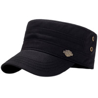 Men' s Outdoor Sports Tennis Hat Four Seasons Flat Top H...