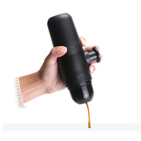 Travel Handheld Pressure Coffee Maker Mini Espresso Manual P...