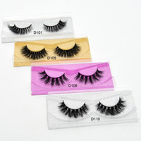 Mink Eyelashes 3D Mink Lashes Thick Crisscross Winged Eyelas...