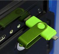 100% реальная емкость красочные 4 ГБ 8 ГБ 16 ГБ 32 ГБ OTG USB поворотный USB 2.0 флэш-накопители Memory Stick для Android смартфонов планшеты флешки