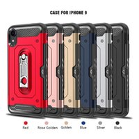 Armor Motel Bracket Card Slot CaseFor Iphone 9 X XPlus 7 7Pl...