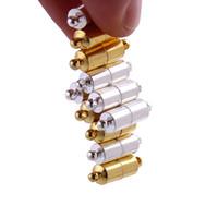 Magnétique Aimant Collier Fermoirs Cylindre en forme de Fermoirs pour Collier bracelet BRICOLAGE Bijoux