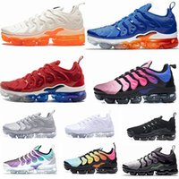 Nike Air Vapormax TN Plus VM TN Plus Running Shoes EE. UU. Creamsicle Light Menta Be True Game Royal Grape Cargo Khaki Hyper Violet Hombre mujer Deportes Zapatillas 36-45
