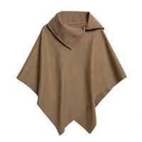 Lose Pullover Mantel Pullover Cape Outwear Frauen Mantel Herbst Winter Casual Mantel Zipper 2018 Pullover Frauen Kleidung & Zubehör