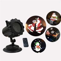 Christmas Projector Lights 16 Pattern Replaceable Rotating L...
