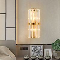 Modern LED K9 Crystal Wall Lamp sconce for hallway living ro...