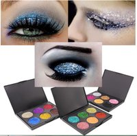 In stock 6 Color Eyeshadow Palete Diamond Shimmer Eye Makeup...