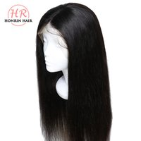 Honrin Hair Lace Front Wig Deep Part Silky Straight Pre Pluc...