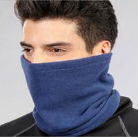 Venta caliente de Moda Unisex Mujeres Hombres Invierno Otoño Ocasional Fleece Bufandas Snood Cuello Más Caliente Mascarilla Beanie sombreros